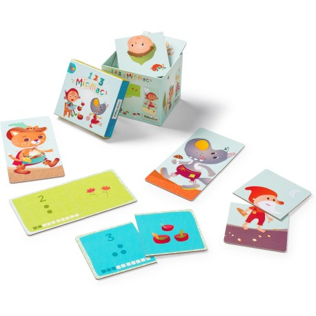 123 Mic Mac Counting Cards