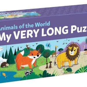 30 PC Long Puzzle/Animals of World