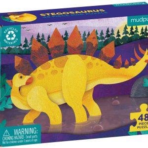 Mini Puzzle Stegosaurus 48 PC