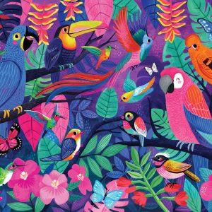 Boxed Birds of Paradise 500 pc